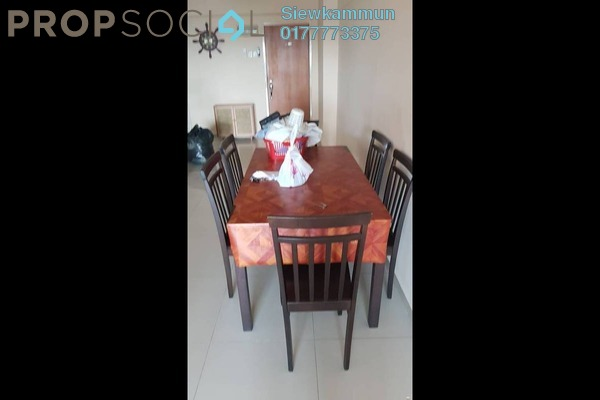 For Rent Condominium at Kepong Central Condominium, Kepong Freehold Semi Furnished 3R/2B 1.2k