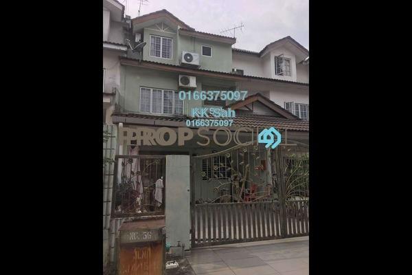 For Sale Link at Taman Balakong Jaya, Balakong Freehold Fully Furnished 4R/3B 550k