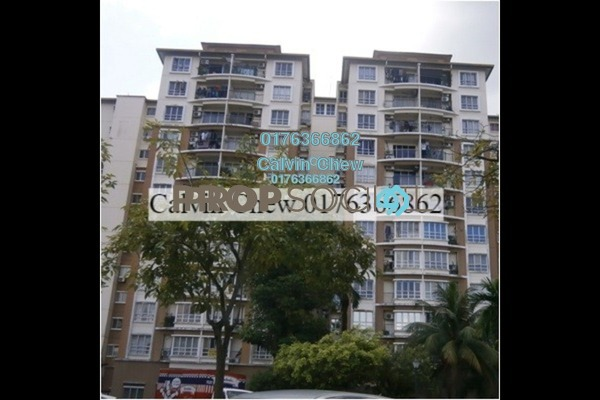 For Sale Condominium at Tiara Intan, Ampang Freehold Unfurnished 3R/2B 250k
