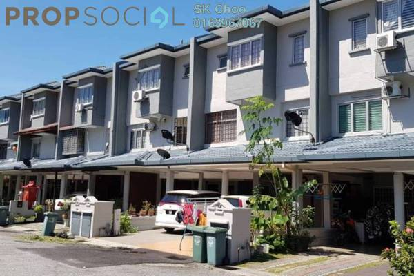 For Sale Townhouse at Bukit OUG Townhouse, Bukit Jalil Freehold Semi Furnished 3R/3B 600k