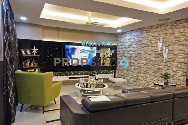 For Sale Terrace at Puteri 8, Bandar Puteri Puchong Freehold Semi Furnished 5R/4B 2.98m