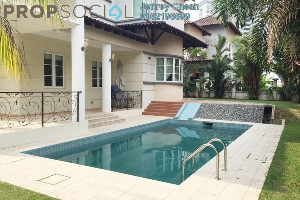For Sale Bungalow at Puncak Kiara, Mont Kiara Freehold Semi Furnished 5R/5B 7m