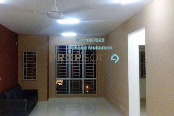 For Sale Apartment at Seri Baiduri, Setia Alam Freehold Semi Furnished 3R/2B 340k
