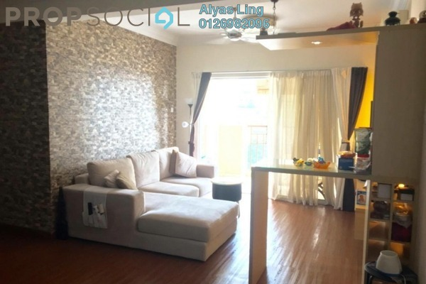 For Rent Condominium at Aseana Puteri, Bandar Puteri Puchong Freehold Fully Furnished 3R/2B 2.3k