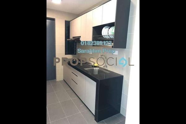 For Rent Condominium at Ascenda Residence @ SkyArena, Setapak Freehold Semi Furnished 3R/2B 1.6k