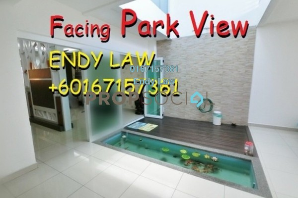For Sale Terrace at Gardenview Residence, Cyberjaya Freehold Fully Furnished 4R/5B 1m