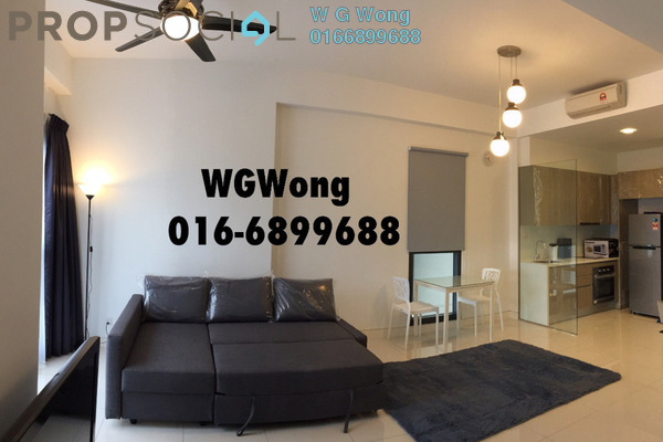 For Rent Serviced Residence at Tropicana Gardens, Kota Damansara Freehold Fully Furnished 1R/1B 2.05k