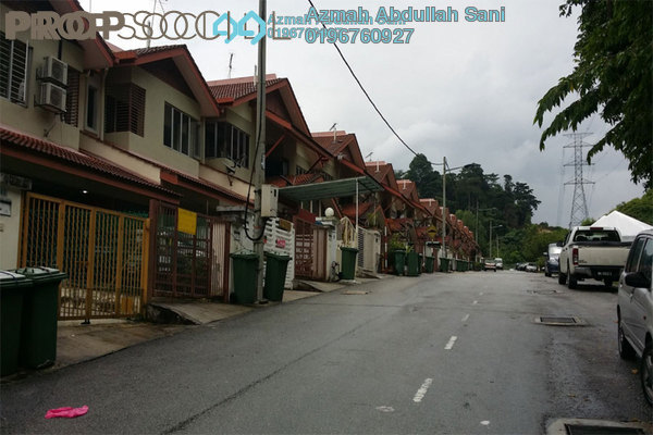 For Sale Townhouse at Amansiara, Selayang Freehold Fully Furnished 3R/2B 450k