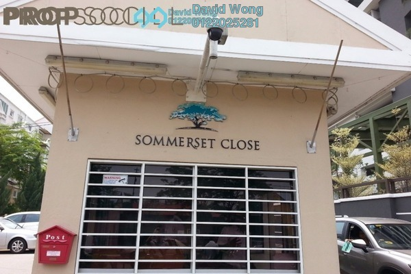 For Rent Condominium at Sommerset Close, Bandar Sri Permaisuri Freehold Fully Furnished 4R/4B 3k
