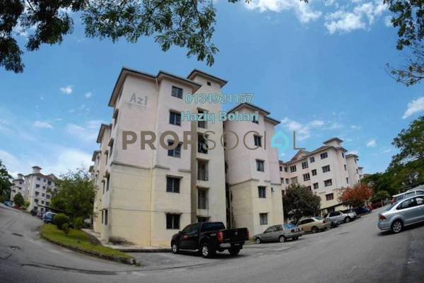 For Sale Apartment at Azalea Homes, Rawang Freehold Semi Furnished 3R/2B 110k