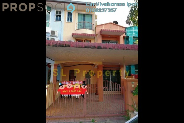 For Sale Terrace at Taman Rapat Damai, Ipoh Leasehold Semi Furnished 6R/3B 360k