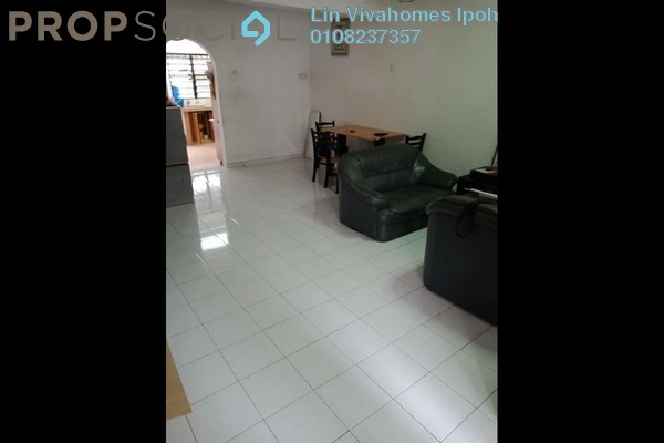 For Sale Terrace at Taman Pakatan Jaya, Ipoh Freehold Semi Furnished 4R/2B 210k