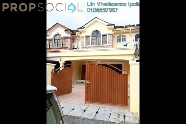 For Rent Terrace at Taman Tambun Baru, Tambun Freehold Semi Furnished 4R/3B 1.2k