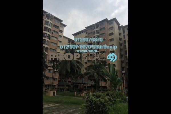 For Sale Apartment at Taman Sri Bahagia, Cheras South Freehold Semi Furnished 3R/2B 275k