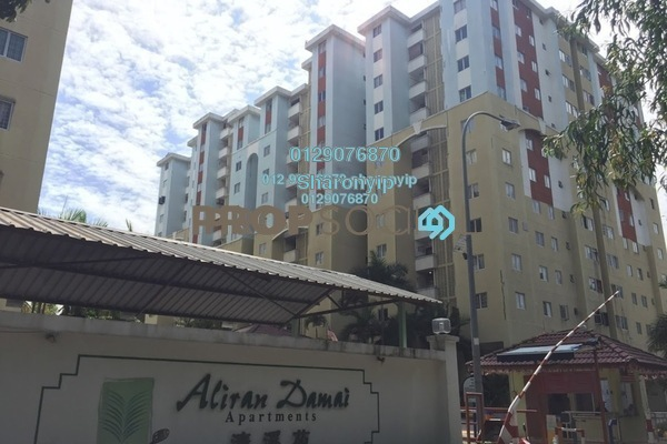 For Sale Apartment at Aliran Damai, Cheras South Freehold Fully Furnished 3R/2B 400k
