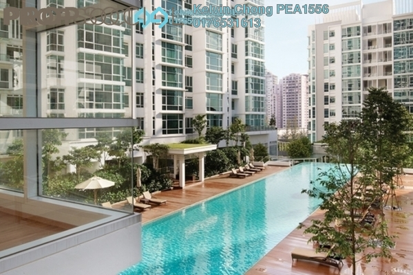 For Sale Condominium at Sunway Vivaldi, Mont Kiara Freehold Semi Furnished 4R/5B 3.4m