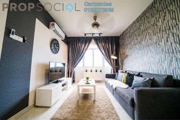 For Rent Condominium at Main Place Residence, UEP Subang Jaya Freehold Fully Furnished 3R/2B 3.2k