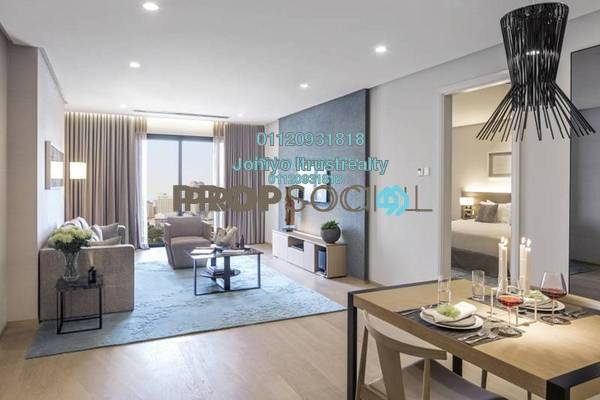 For Sale Condominium at AraGreens Residences, Ara Damansara Freehold Semi Furnished 1R/1B 379k