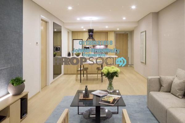 For Sale Condominium at Tropicana City Tropics, Petaling Jaya Freehold Semi Furnished 1R/1B 377k