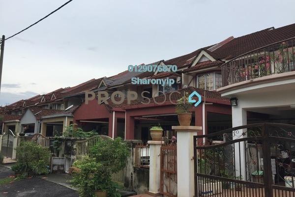 For Sale Terrace at Taman Bukit Permai, Bandar Mahkota Cheras Freehold Semi Furnished 4R/3B 800k