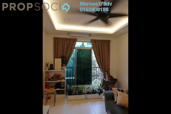 For Sale Condominium at Villa Park, Seri Kembangan Freehold Semi Furnished 3R/2B 450k