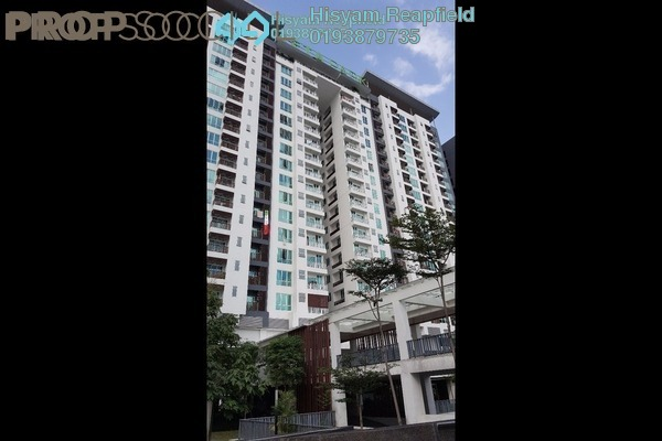 For Sale Condominium at ZetaPark, Setapak Leasehold Semi Furnished 3R/3B 680k