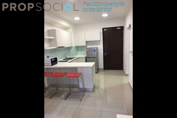 For Rent Condominium at Solstice @ Pan'gaea, Cyberjaya Freehold Fully Furnished 0R/1B 1.2k