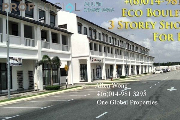 For Rent Shop at Eco Botanic, Skudai Freehold Unfurnished 0R/0B 4.8k