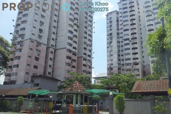 For Sale Condominium at BAM Villa, Cheras Freehold Semi Furnished 2R/2B 335k