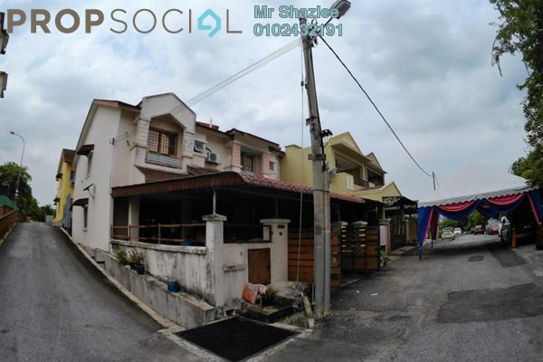 For Sale Terrace at Taman Desa Cheras, Alam Damai Freehold Semi Furnished 4R/3B 570k