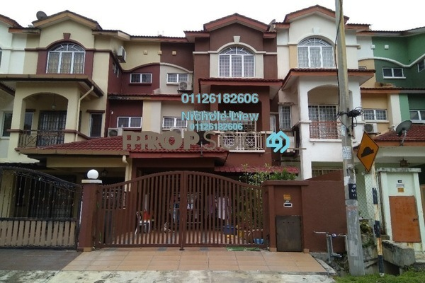 For Sale Link at Section 1, Bandar Mahkota Cheras Freehold Semi Furnished 5R/4B 730k