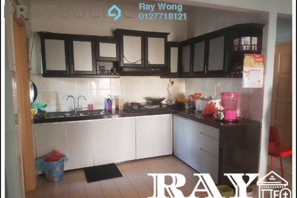 For Sale Apartment at Astana Alam Apartment, Kuala Selangor Leasehold Semi Furnished 3R/2B 150k