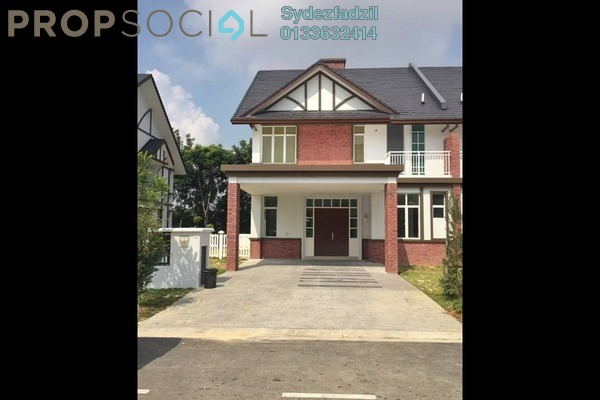 For Sale Semi-Detached at Setia Eco Park, Setia Alam Freehold Unfurnished 5R/5B 2.1m