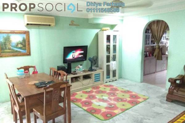 For Sale Terrace at Pandan Indah, Pandan Indah Freehold Semi Furnished 4R/3B 590k