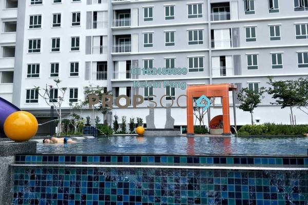 For Sale Condominium at Solaria Residences, Sungai Ara Freehold Unfurnished 3R/2B 550k