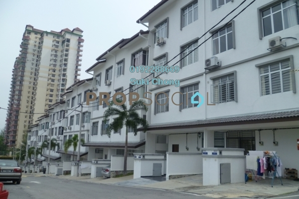 For Sale Townhouse at Taragon Puteri Cheras, Batu 9 Cheras Freehold Unfurnished 3R/2B 300k