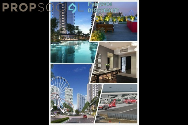 For Sale Condominium at Nilai Vision City, Putra Nilai Freehold Semi Furnished 1R/1B 210k