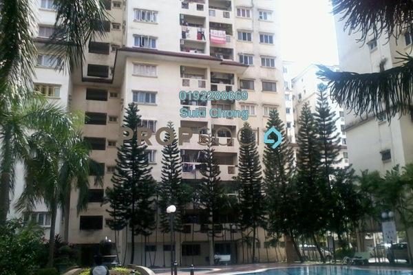 For Sale Condominium at Pandan Mewah Heights, Pandan Indah Freehold Semi Furnished 3R/2B 358k