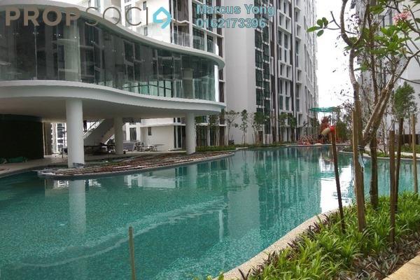 For Sale SoHo/Studio at H2O Residences, Ara Damansara Freehold Semi Furnished 1R/1B 375k