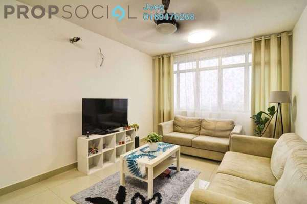 For Sale Condominium at 228 Selayang Condominium, Selayang Freehold Fully Furnished 3R/2B 380k