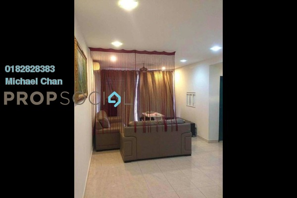 For Rent Condominium at Koi Tropika, Puchong Freehold Semi Furnished 3R/2B 1.4k
