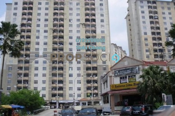 For Sale Apartment at Lagoon Perdana, Bandar Sunway Freehold Unfurnished 3R/2B 208k
