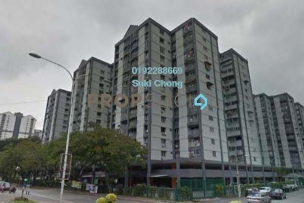 For Sale Apartment at Grandeur Tower, Pandan Indah Freehold Unfurnished 3R/2B 355k