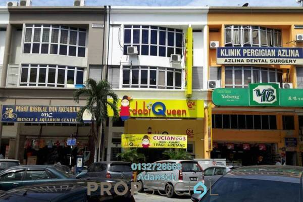 For Rent Terrace at Medan Idaman Business Centre, Setapak Freehold Semi Furnished 3R/2B 1.6k