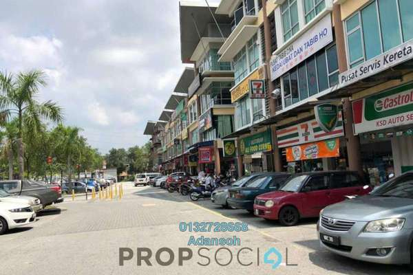 For Rent Shop at M Avenue, Segambut Freehold Unfurnished 0R/0B 4.3k