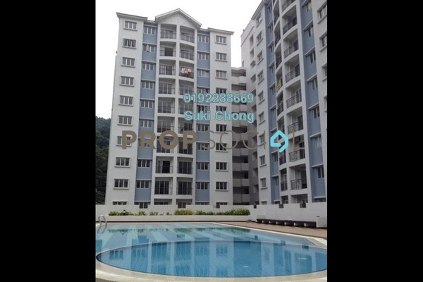 For Sale Condominium at Nusa Mewah, Cheras Freehold Unfurnished 3R/2B 345k