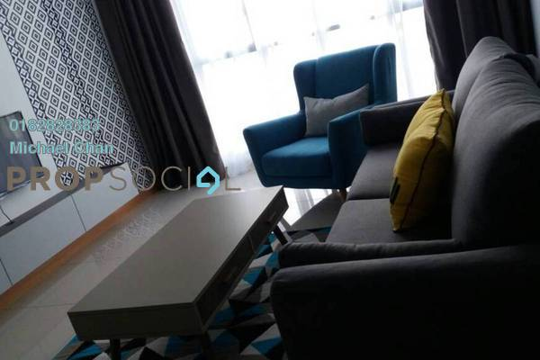 For Rent Serviced Residence at KL Gateway, Bangsar South Freehold Fully Furnished 2R/2B 3.6k
