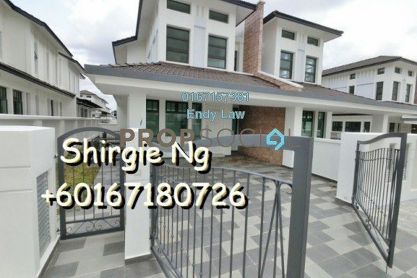 For Sale Semi-Detached at Morning Dew Tower, Gelugor Freehold Unfurnished 5R/5B 898k