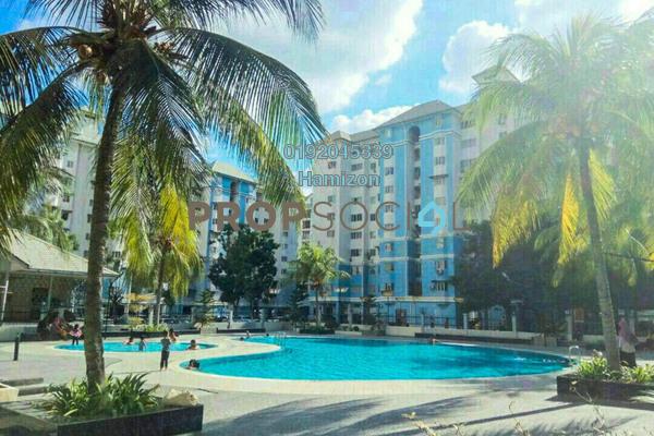 For Sale Apartment at Tasik Heights Apartment, Bandar Tasik Selatan Freehold Unfurnished 3R/2B 295k