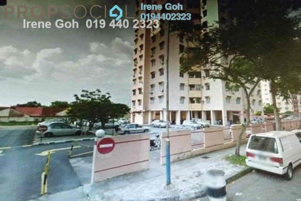 For Sale Condominium at Mewah Court, Green Lane Freehold Unfurnished 3R/2B 380k